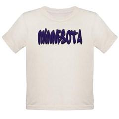 Minnesota Graffiti Organic Toddler T-Shirt