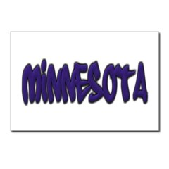 Minnesota Graffiti Postcards (Package of 8)