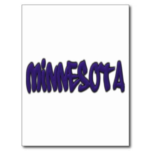 Minnesota Graffiti Postcard