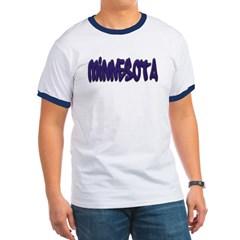 Minnesota Graffiti Ringer T-Shirt