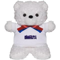Minnesota Graffiti Teddy Bear