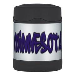 Minnesota Graffiti Thermos Food Jar