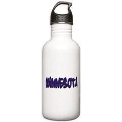 Minnesota Graffiti Water Bottle