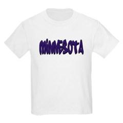 Minnesota Graffiti Youth T-Shirt by Hanes
