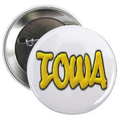 "Iowa Graffiti 2.25"" Button"
