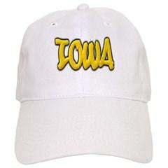 Iowa Graffiti Baseball Cap