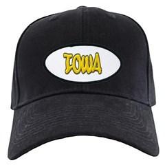 Iowa Graffiti Baseball Hat