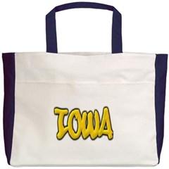 Iowa Graffiti Beach Tote Bag