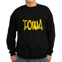 Iowa Graffiti Dark Sweatshirt