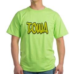 Iowa Graffiti Green T-Shirt