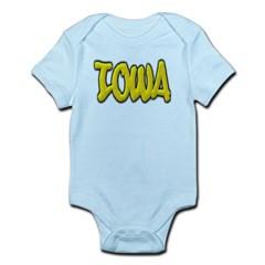 Iowa Graffiti Infant Bodysuit