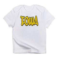 Iowa Graffiti Infant T-Shirt