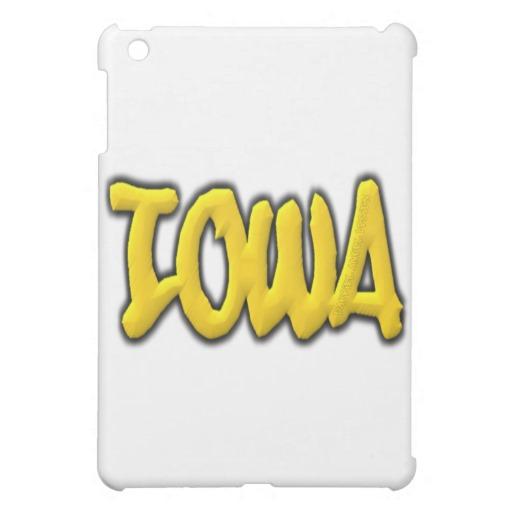 Iowa Graffiti iPad Mini Matte Finish Case
