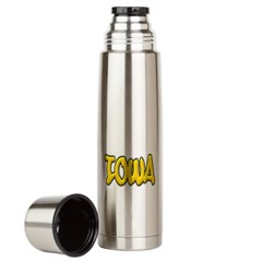 Iowa Graffiti Large Thermos Bottle
