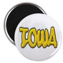 Iowa Graffiti Magnet