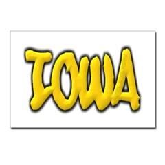 Iowa Graffiti Postcards (Package of 8)