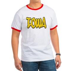 Iowa Graffiti Ringer T-Shirt