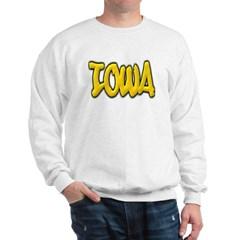 Iowa Graffiti Sweatshirt