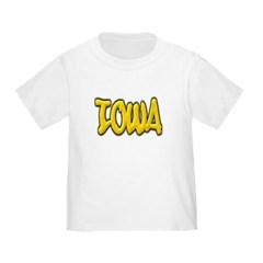 Iowa Graffiti Toddler T-Shirt