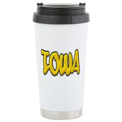 Iowa Graffiti Travel Mug
