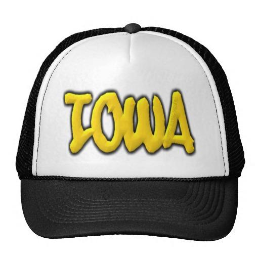 Iowa Graffiti Trucker Hat