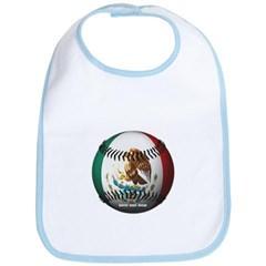 Mexican Baseball Baby Bib