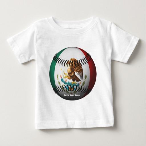 Mexican Baseball Baby Fine Jersey T-Shirt