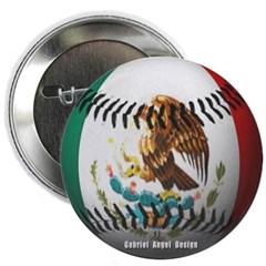 Mexican Baseball Button