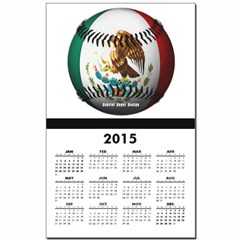 Mexican Baseball Calendar Print