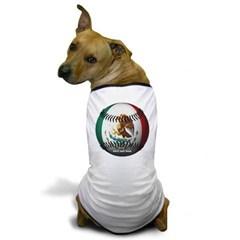 Mexican Baseball Dog T-Shirt