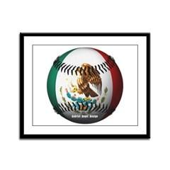 Mexican Baseball Framed Panel Print