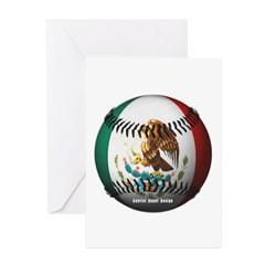 Mexican Baseball Greeting Cards (Pk of 10)