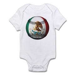 Mexican Baseball Infant Bodysuit