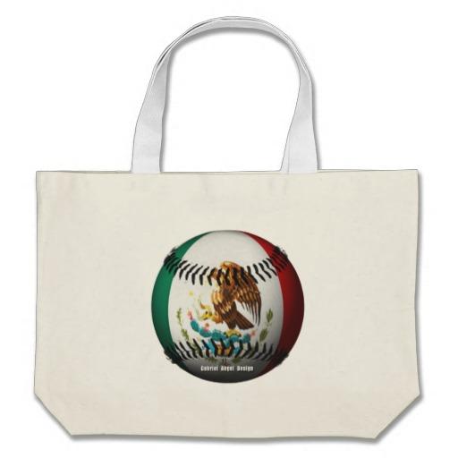 Mexican Baseball Jumbo Tote