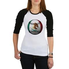 Mexican Baseball Junior Raglan T-shirt