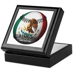 Mexican Baseball Keepsake Box