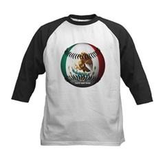 Mexican Baseball Kids Baseball Jersey T-Shirt