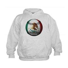 Mexican Baseball Kids Sweatshirt by Hanes