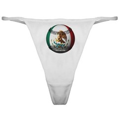 Mexican Baseball Ladies Thong Underwear