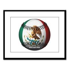 Mexican Baseball Large Framed Print