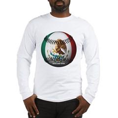 Mexican Baseball Long Sleeve T-Shirt