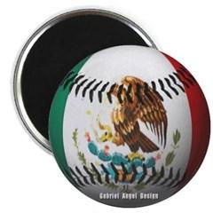 Mexican Baseball Magnet