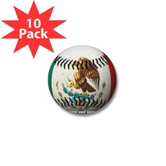 Mexican Baseball Mini Button (10 pack)