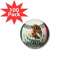 Mexican Baseball Mini Button (100 pack)