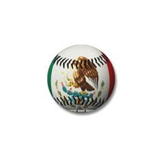 Mexican Baseball Mini Button