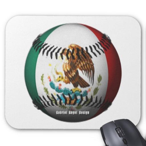 Mexican Baseball Mousepad