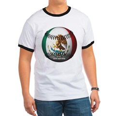 Mexican Baseball Ringer T-Shirt