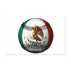 Mexican Baseball Small Posters