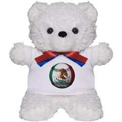 Mexican Baseball Teddy Bear