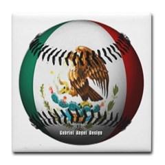Mexican Baseball Tile Coaster